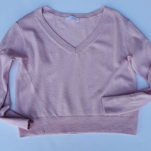 Everlane Cashmere sweater Small pastel pink
